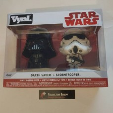 Funko Vynl Star Wars Darth Vader & StormTrooper Vinyl Figure 2-Pack FU31616
