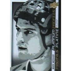PP SS-1 Mark Messier Platinum Profiles Insert Set Tim Hortons 2015-2016 Collector's Series