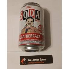 Funko Vinyl Soda Leatherface Figure Sealed Can Limited Edition 12,500 Pcs