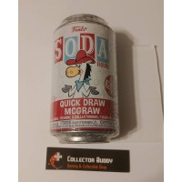 Funko Vinyl Soda Quick Draw McGraw Figure Sealed Can Limited Edition 10,000 Pcs