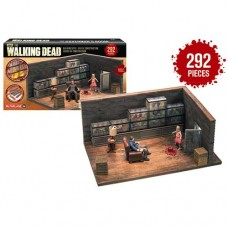 McFarlane AMC The Walking Dead TWD Construction The Governor's Room Set 292 Pieces