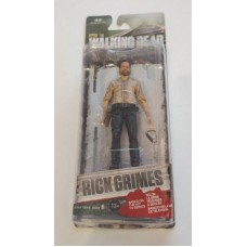 "McFarlane AMC The Walking Dead TWD Rick Grimes 5"" Action Figure Series 6"