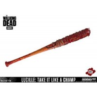 McFarlene The Walking Dead Lucille Bat Take it Like a Champ Full Size Replica