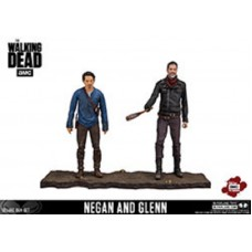 DAMAGED BOX McFarlane The Walking Dead Bloody Glenn and Negan 5 inch figures