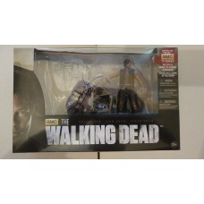 "McFarlane AMC The Walking Dead TWD Daryl Dixon & Chopper Deluxe 5"" Action Figure"