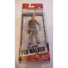 McFarlane AMC The Walking Dead TWD Cell Block Flu Walker Action Figure Series 7