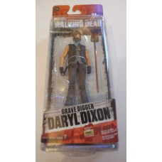 McFarlane AMC The Walking Dead TWD Grave Digger Daryl Dixon Action Figure Series 7