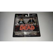 Diamond Select MiniMates The Walking Dead TWD Rick Grimes & Douglas Monroe
