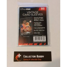 "Ultra Pro - Pack of 50 - Vintage Card Soft ""Penny"" Sleeves (50 total sleeves)"