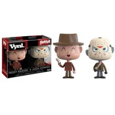 Funko Vynl Horror Freddy Krueger & Jason Voorhees Vinyl Figure 2-Pack FU20911