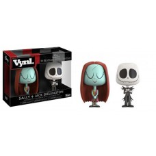 Damage Box Funko Vynl Night Before Christmas Sally & Jack Skellington Vinyl Figure 2-Pack FU21191