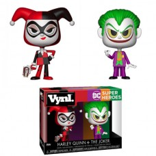 Funko Vynl DC Super Heroes Harley Quinn & The Joker Vinyl Figure 2-Pack