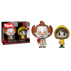 Funko Vynl Horror It Pennywise & Georgie Vinyl Figure 2-Pack FU29257