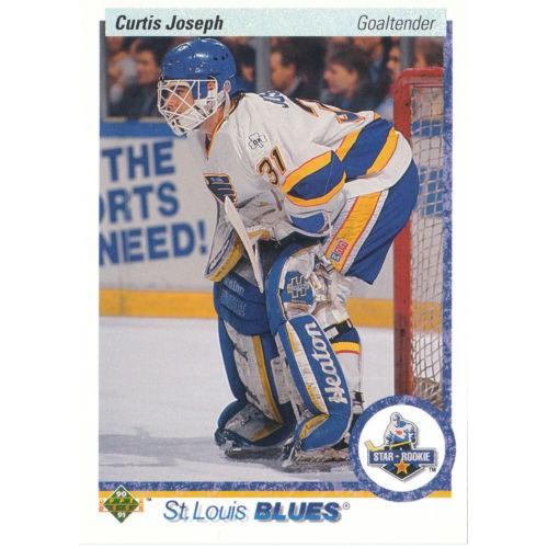 Curtis Joesph RC 1990-91 Upper Deck #175 90-91 90/91Blues